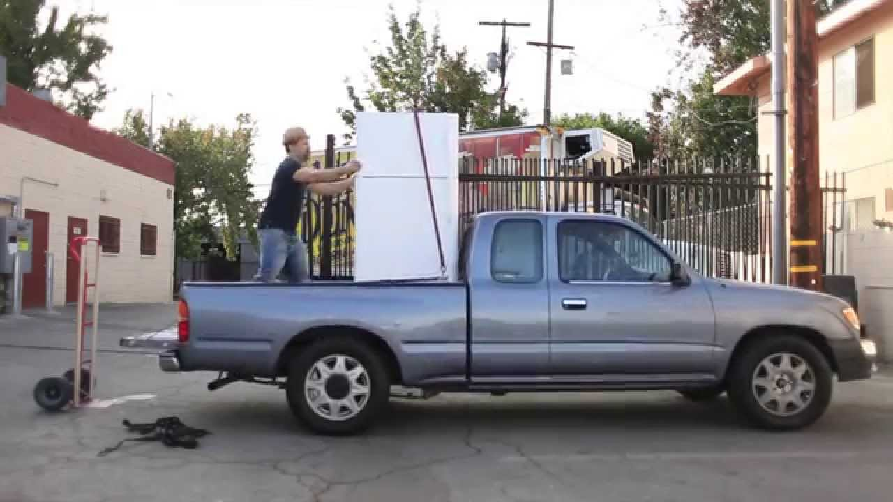 Safety Measures for Transporting Fridge